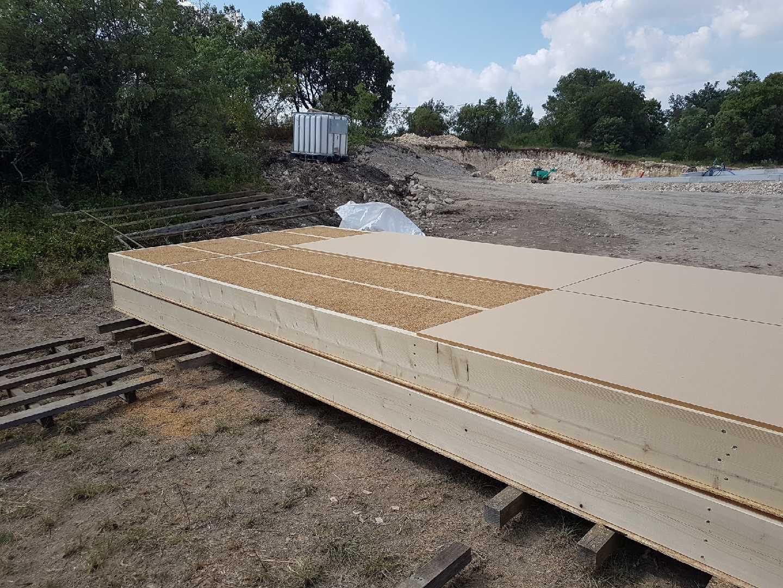 panneaux isolation toiture paille de riz