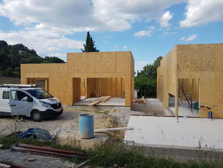 chantier ossature bois montpellier
