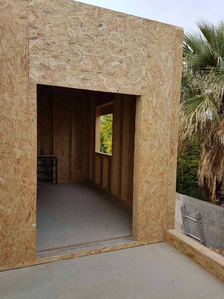 Travaux d'isolation et d'agrandissement d'une Villa
