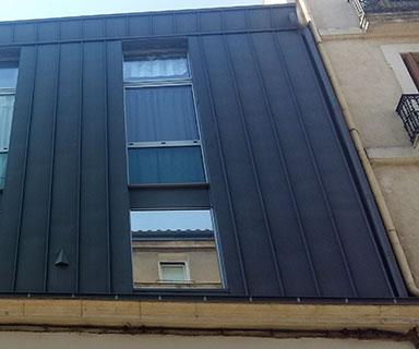 Bardage zinc quartz | Montpellier