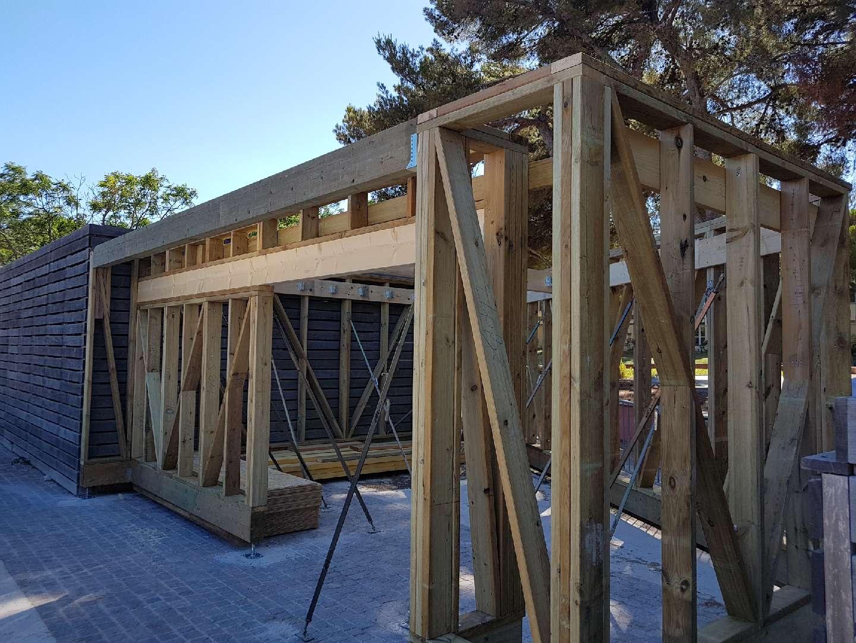 extension local technique ossature bois etancheite 34