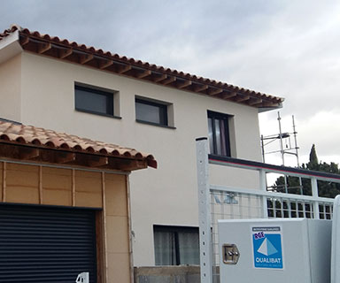 Maison ossature bois RT2012 | Gignac (34)